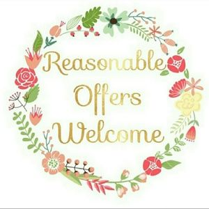 ~ All reasonable offers considered ~
